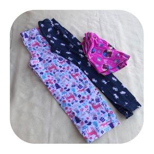 Other - 6/$15 7/8 M PJ shorts & 2 PJ pants